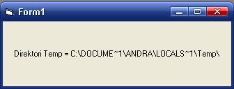 Folder Temp